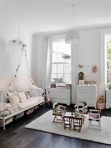 maison renovee new york chambre enfant toute blanche With parquet chambre enfant