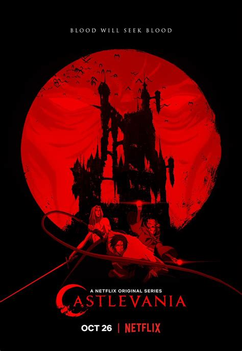 New Castlevania Season 2 Poster Released Ign