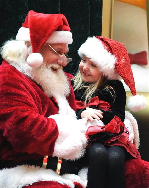 Santa Claus arrives at area malls this weekend ...