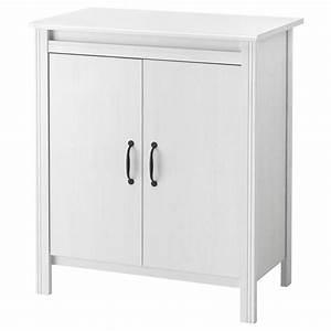Armoire De Rangement Ikea : brusali armoire avec portes blanc 80 x 93 cm ikea ~ Teatrodelosmanantiales.com Idées de Décoration