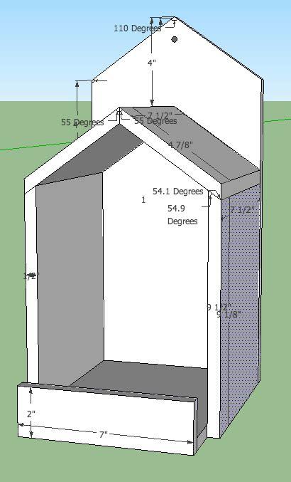open box robin bird house plans  spoiledbirds cardinal bird house bird house plans bird