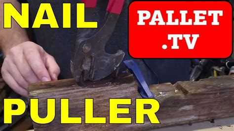 crescent np nail puller tool  remove nails  wood pallets  pallets