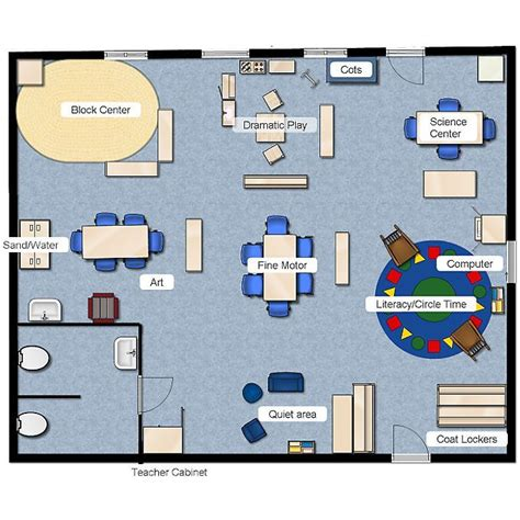 preschool floor plan layout preschool class layout classroom layout 323