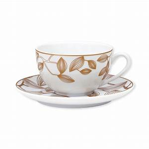 Tasse à Thé : tasse et sous tasse th avec motifs fleurs vaisselle design ~ Teatrodelosmanantiales.com Idées de Décoration