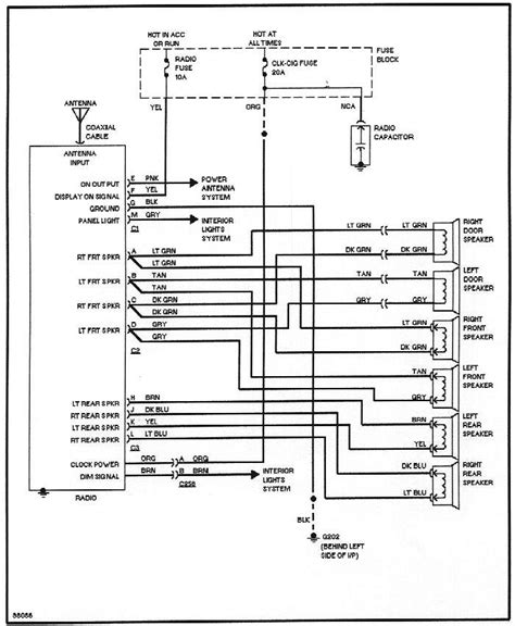 2002 Chevy Prizm Wire Diagram Wiring Schematic by Concert Sound Ii Wiring Diagram Gn And T Type