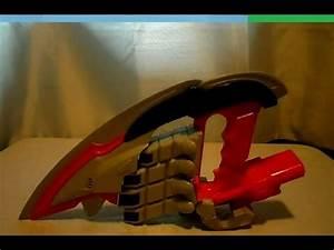Power Rangers Jungle Fury Rhino Morpher/Blade Review - YouTube