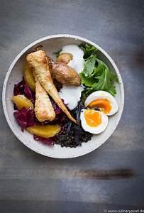 Pastinaken Im Ofen : buddha bowl mit pastinaken radicchio orange und ei ~ Lizthompson.info Haus und Dekorationen