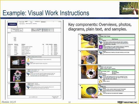 work instruction template downloads  work