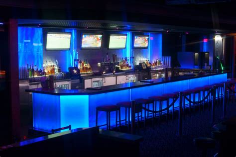 Bar Lighting by Nightclub Design With Durable Materials Architectural
