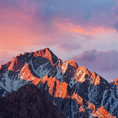Apple 4k Sierra Mountain Sunset Ipad