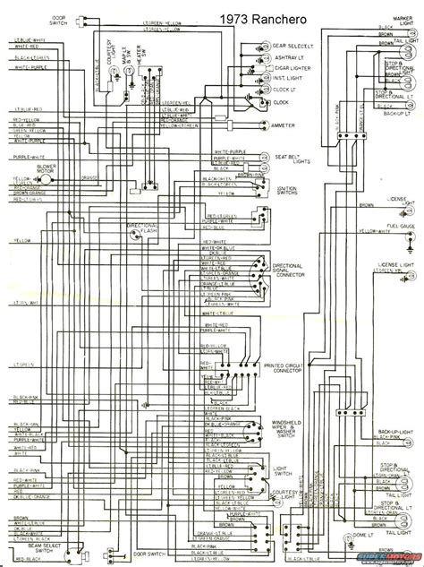 Ford Ranchero Wiring Diagram The Site Share Images