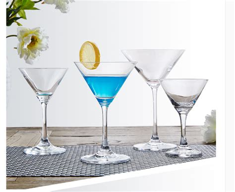 Lead-free Crystal Glass Cocktail Glass Martini Glasses