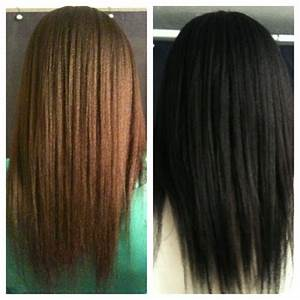 Henna Hair Before And After Dark Brown | makedes.com