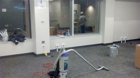 construction clean  commercial building maintenance