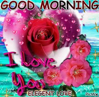 Morning Happy Valentine Gifs Goodmorning Picmix Heart
