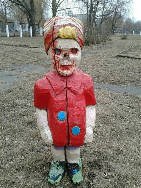 russian playgrounds    creepy theyre