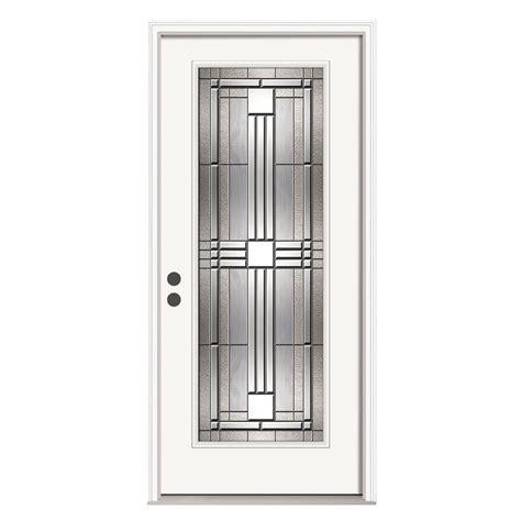 jeld wen doors jeld wen 36 in x 80 in lite cordova primed steel