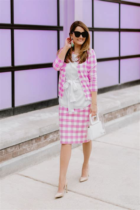 wear gingham   ways style charade