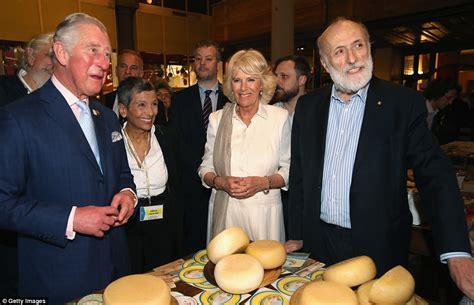 Prince Charles And Camilla Sample Italian Food Daily
