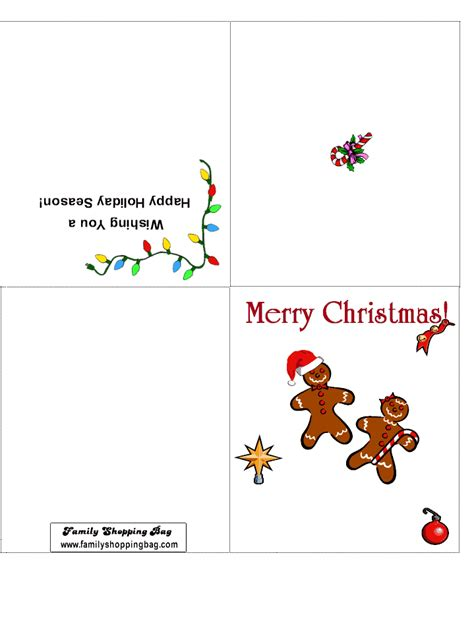 printable christmas card christmas printable cards