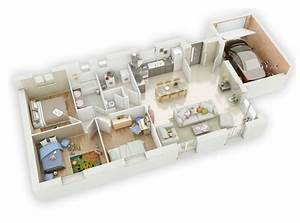 mikit joanie 30 plan plans interieurs pinterest With marvelous plan 3d maison en ligne 0 plan maison 3 chambres 3d