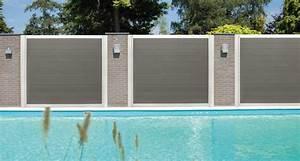 Brise Vue En Aluminium : panneau bois brise vue lertloy com ~ Edinachiropracticcenter.com Idées de Décoration