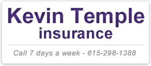 kevin temple insurance serving nashville