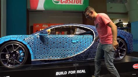 Chiron Carry Build by Details Of The Scale Lego Bugatti Chiron Are