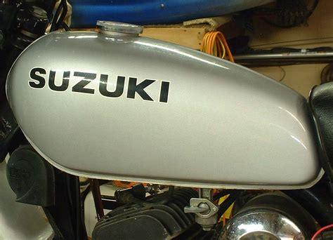 Vintage Motorcycle Gas Tanks