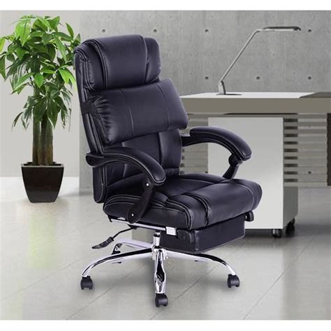 fauteuil de bureau confort fauteuil de bureau manager grand confort avec repose pieds