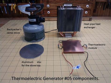 unique thermoelectric generator ideas  pinterest