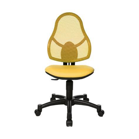 topstar open junior topstar open junior bureaustoel geel bureaustoelen babypark