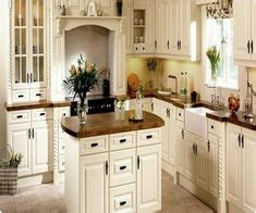 shabby chic kitchen island ideas 1000 images about shabby chic kitchens on 7907