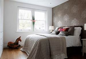 small bedroom ideas to try in your home homestylediarycom With bedroom paint and wallpaper ideas