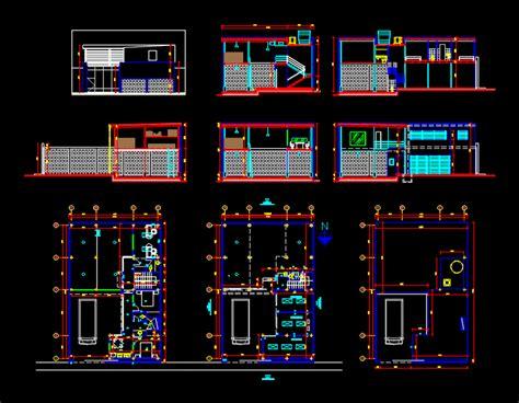architecture   barn carpentry steel dwg plan