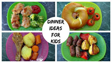 dinner ideas for a week of dinner ideas for kids