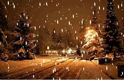Snow Winter Let Animated Scenes Scene Via