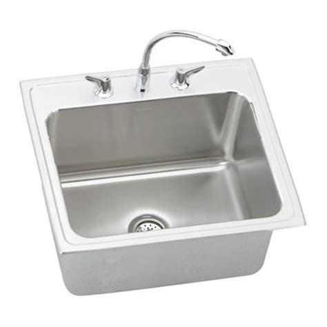 kitchen sink packages elkay dlh252212c lustertone bowl package single basin 2810