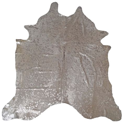 Silver Cowhide Rug by Silver Acid Wash Cowhide Rug Design By Bd Hides Burke Decor