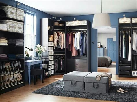 ikea walk in closet design ikea walk in closet ideas d 233 coration pinterest