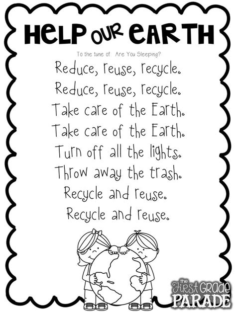 earth songs for preschoolers 25 best ideas about day poem on 440