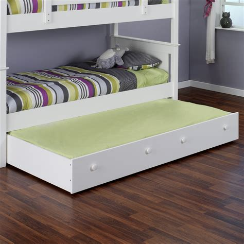 trundle bed with pop up trundle bed frame nice accent for playful bedroom