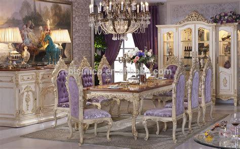luxury dining tableantique european italian style dining