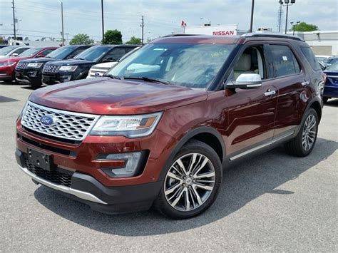 2016 Ford Explorer Platinum*stunning Colour*fully Loaded