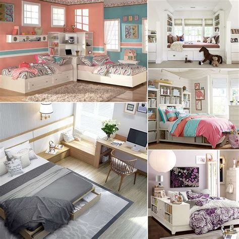 amazing space saving ideas  teens bedroom