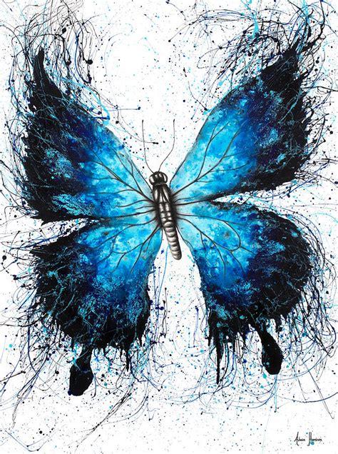 butterfly tattoo painting  ashvin harrison