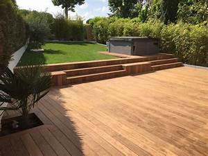 Bois De Terrasse : terrasse bois et spa 78 france terrasse bois ~ Preciouscoupons.com Idées de Décoration