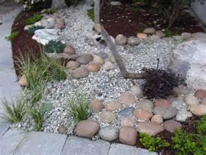Landscape Dry River Bed Rock