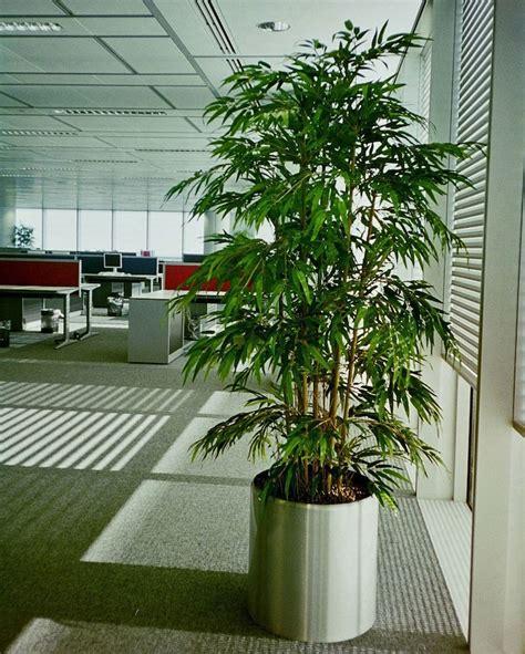 bureau en bambou plante artificielle de faux végétaux plus vrais que