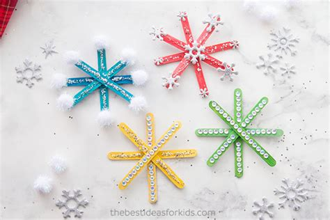 How To Make Popsicle Stick Snowflake Ornaments Red Curtain Ideas For Living Room French Style Set Best Green Color And Pink 2 Couches In Cream Brown Sofa Open Concept Kitchen
